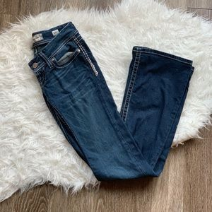 Buckle BKE flare jeans